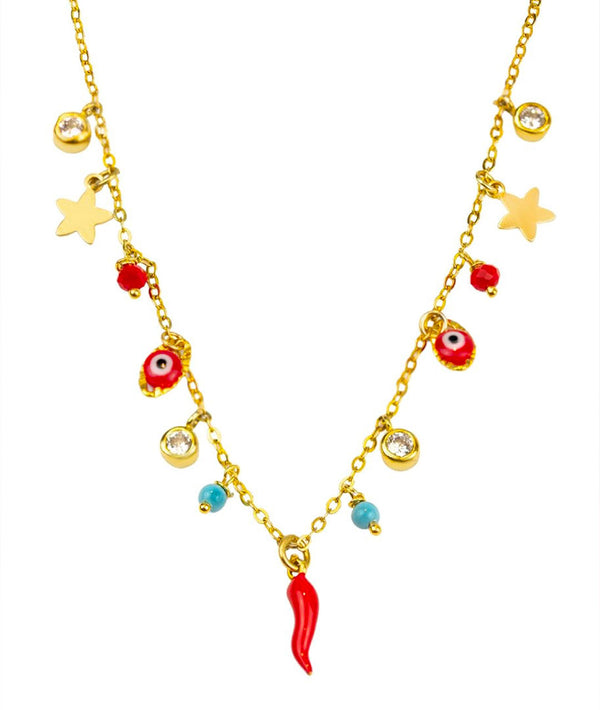 Lucky Red Pepper Necklace