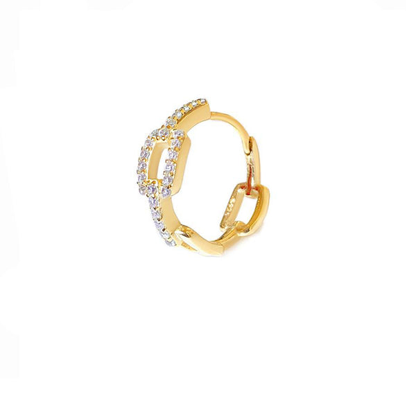 Golden Chain Hoop