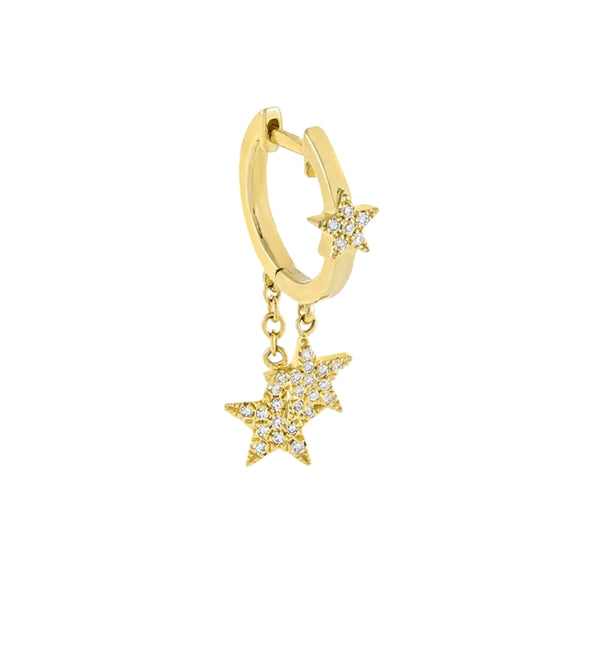 Starry tear hoop