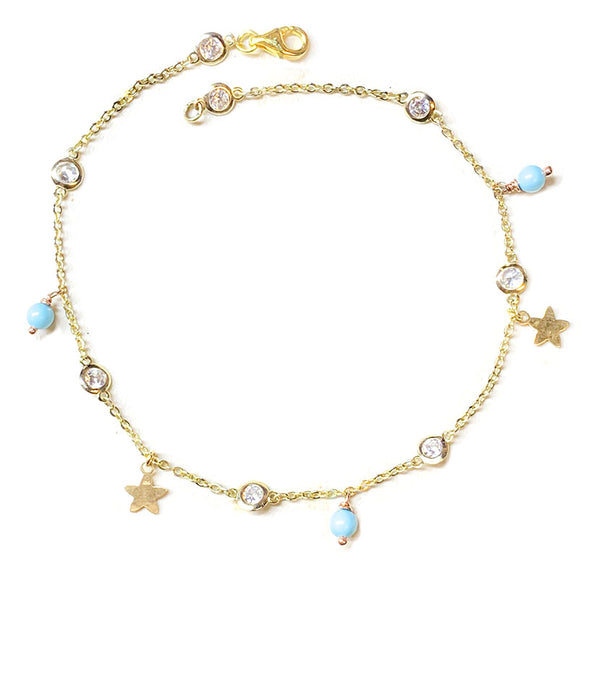 Turquoise Anklet