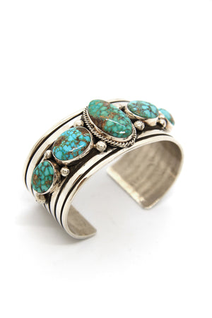 Load image into Gallery viewer, Albert Jake Royston Turquoise Cuff Bracelet
