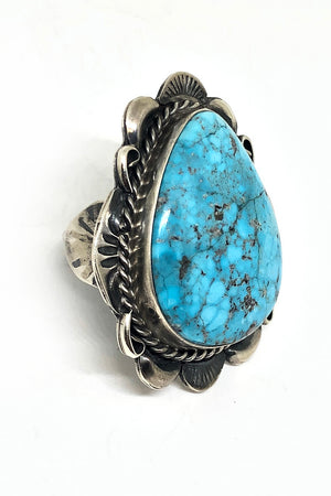 Betta Lee Bold Turquoise Ring (Size 9)