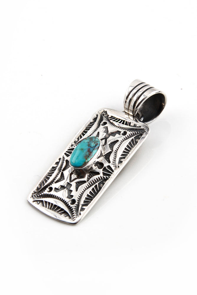 Load image into Gallery viewer, G. Ramone Turquoise Pendant