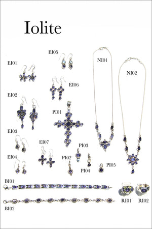 Load image into Gallery viewer, Iolite Jewelry