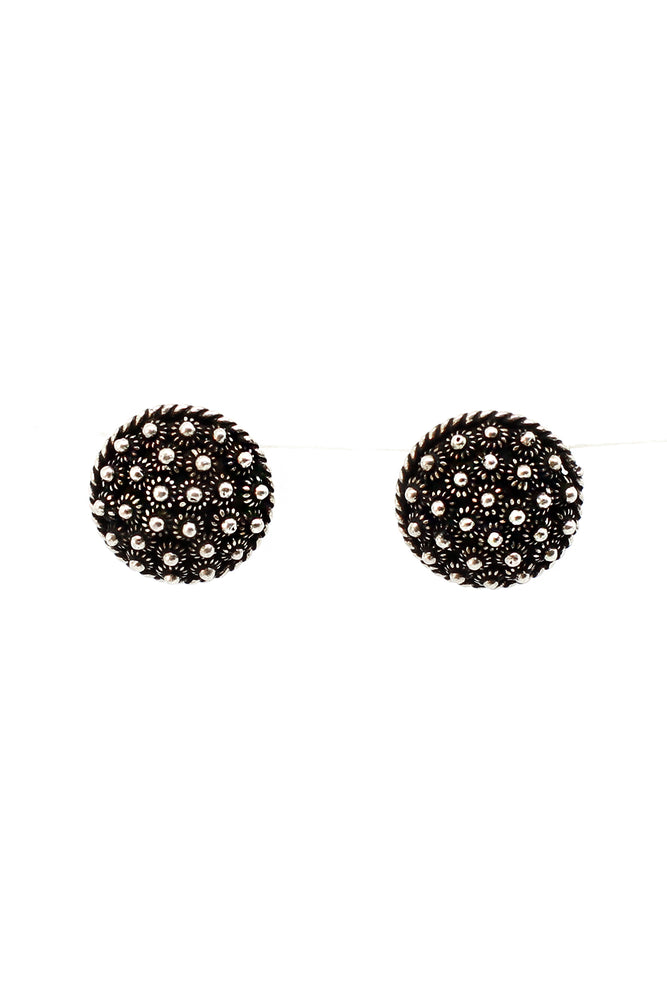Load image into Gallery viewer, Laos small Flower Stud Earrings