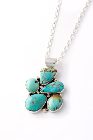 Load image into Gallery viewer, Royston Turquoise Pendant