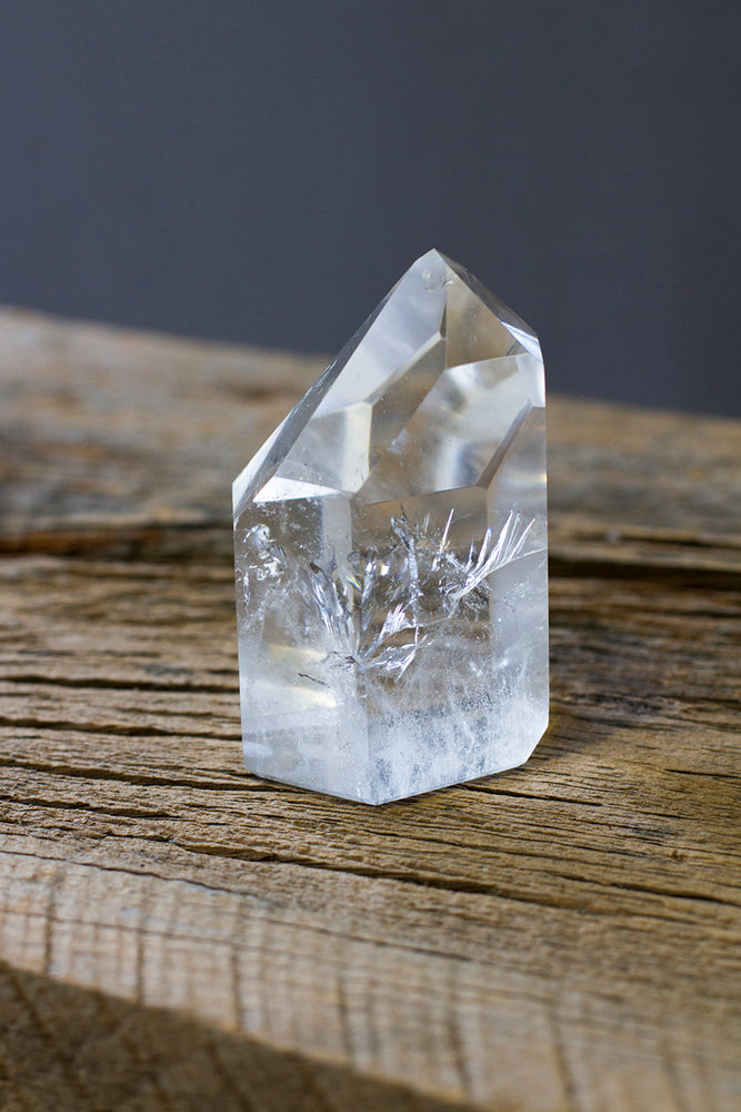 Brazilian Quartz Crystal Point