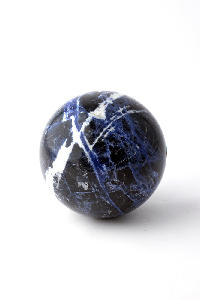 Load image into Gallery viewer, Sodalite Sphere 2 3/4""