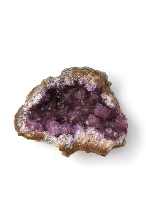 Load image into Gallery viewer, Amethyst Druzy Crystal Geode