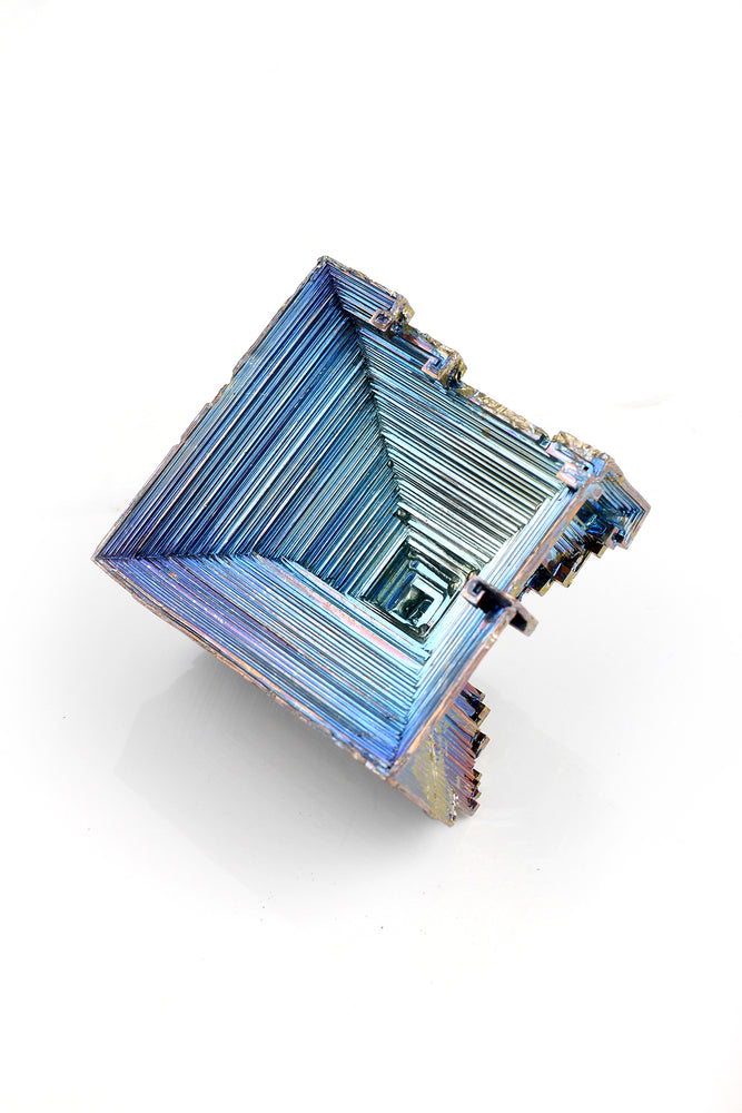 Load image into Gallery viewer, Large Square Bismuth Crystal