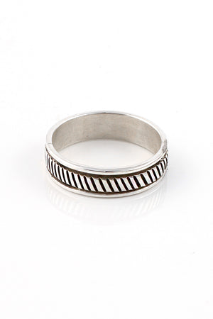 Bruce Morgan Sterling Silver Band (Size 13.25)
