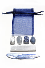 Cool Blue Crystal Calming Kit