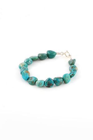 Children's Carico Lake Turquoise Nugget Bracelet
