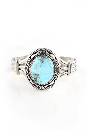 Eugene Belone Dry Creek Turquoise Cuff