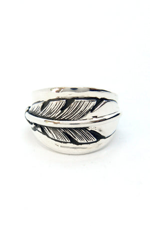 Navajo Feather Wrap Ring