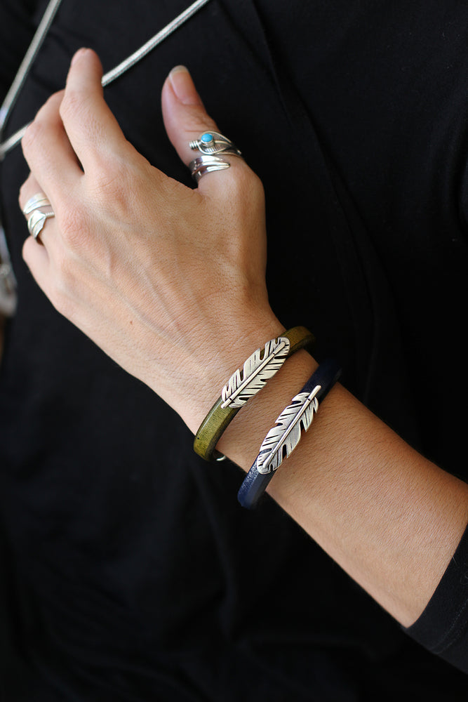 Feather Station Bracelets