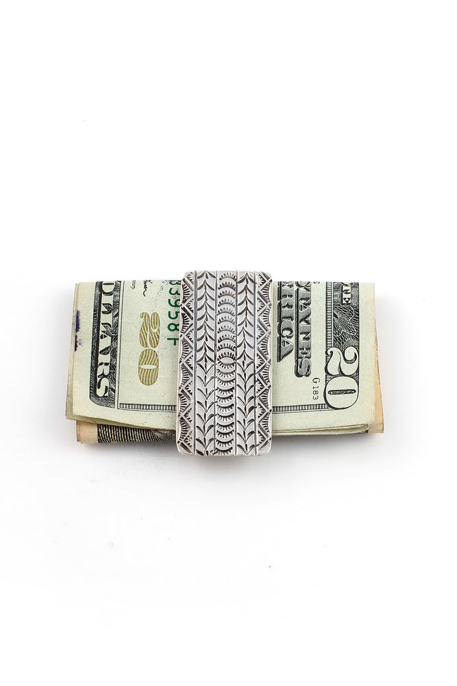 Navajo Sterling Silver Money Clip