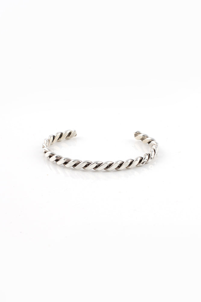 Load image into Gallery viewer, Children's Sterling Silver Twist Bracelet