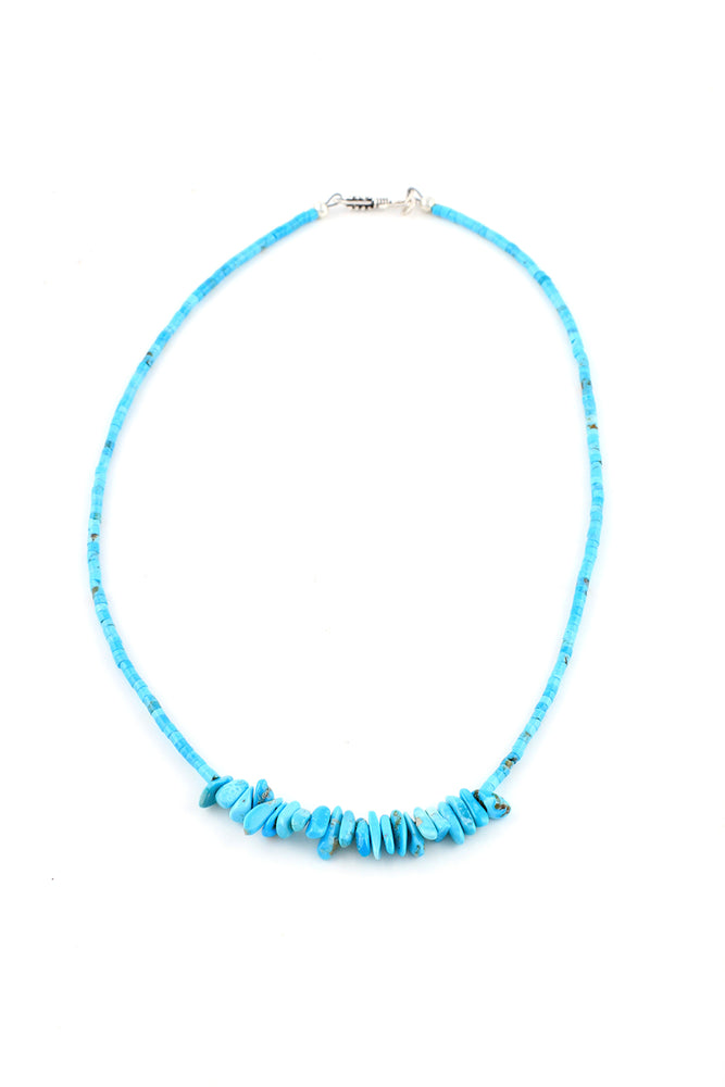 Children's Kingman Turquoise Necklace