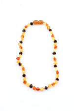 Tricolor Amber Teething Necklace