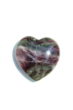 Load image into Gallery viewer, Rainbow Fluorite Heart