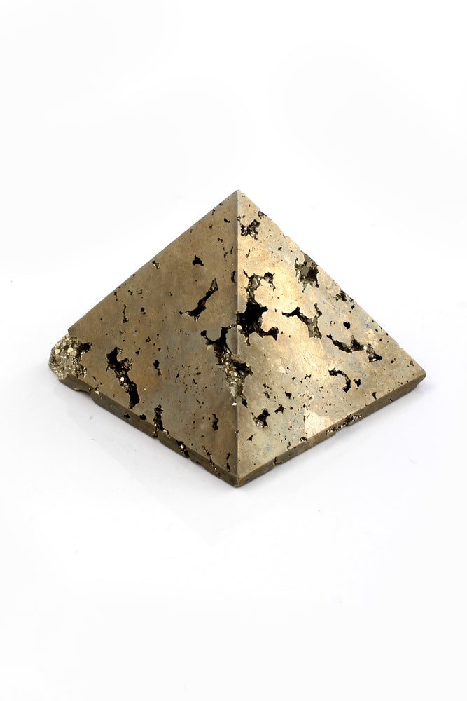 Load image into Gallery viewer, Peruvian Pyrite Pyramid