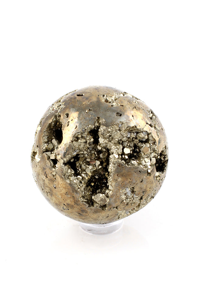 Load image into Gallery viewer, Peruvian Pyrite Sphere