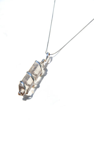 Load image into Gallery viewer, Smoky Quartz Crystal Pendant