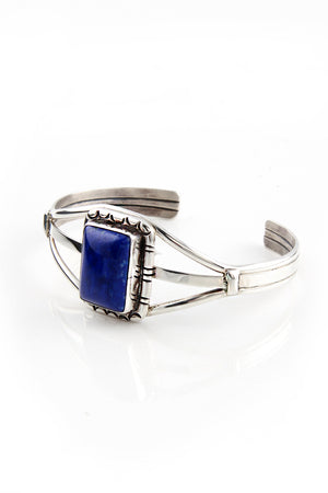 Load image into Gallery viewer, Secatero Lapis Lazuli Cuff