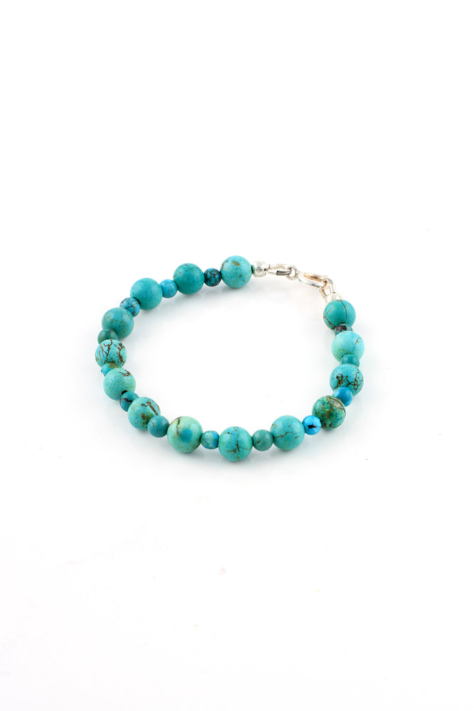 Children's Green Turquoise Bracelet