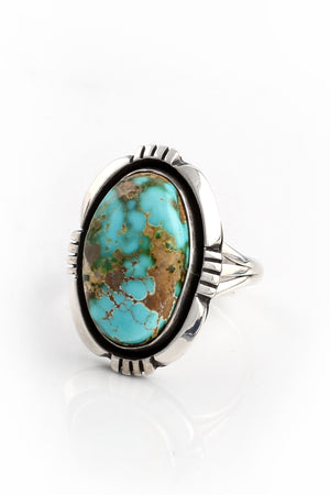 Navajo Royston Turquoise Ring (Size 7.25)