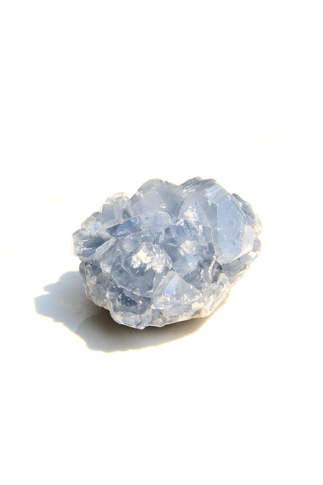 Tiny Celestite Geode Chunk from Madagascar