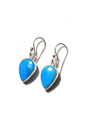 Load image into Gallery viewer, Blue Turquoise Modern Earrings