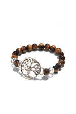 Tree of Life Tiger's Eye Power Bracelet