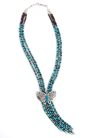 Everett and Mary Teller Butterfly Necklace