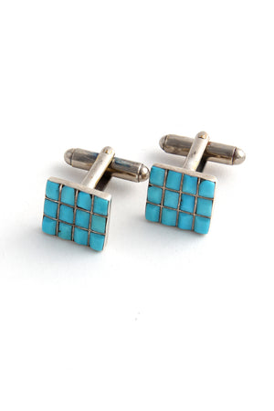 Turquoise Inlay Cufflinks