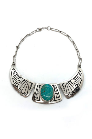 Everett and Mary Teller Turquoise Mountain Necklace