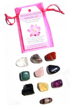 The Women's Crystal Healing Stone Kit