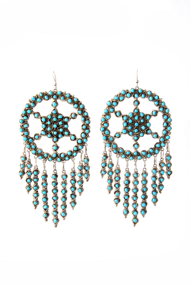 Zuni Petit Point Chandelier Earrings