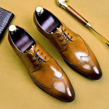 Load image into Gallery viewer, Shoes Formal Business  Leather Minimalist