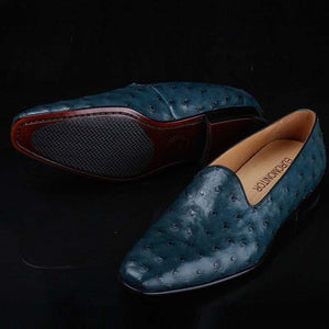 leather men shoes  business