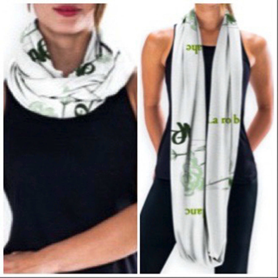 Infinity Scarf- In 3 AFR Prints - AFRArt2U