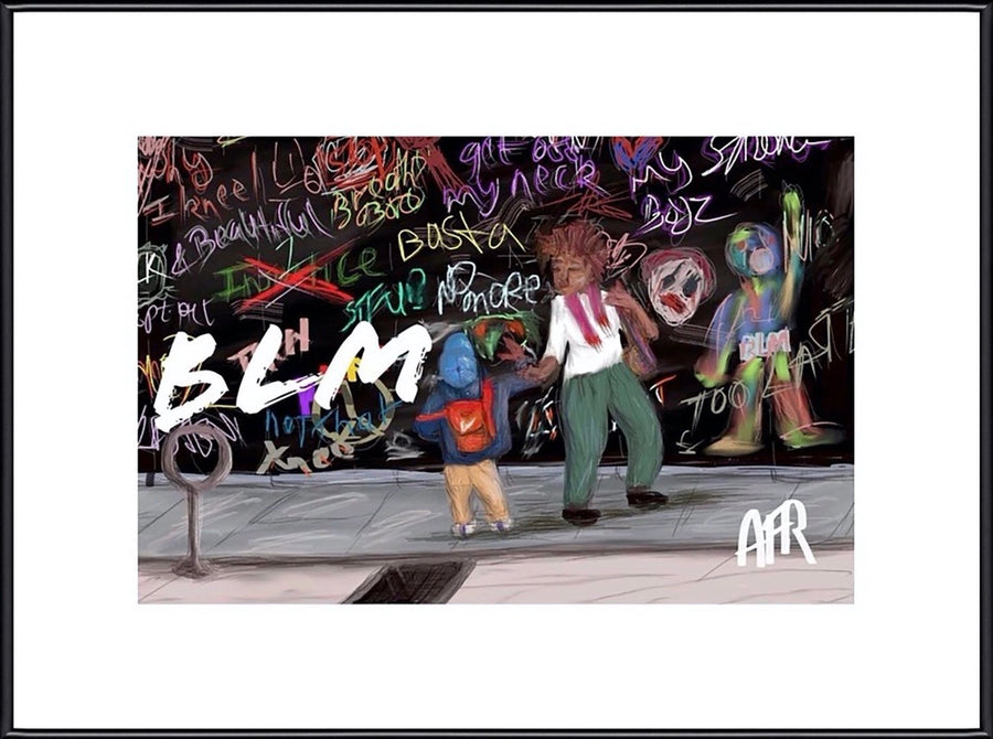 Everything BLM - 6 Products with the signature AFR Art Print. Beginning at $22.00 - AFRArt2U