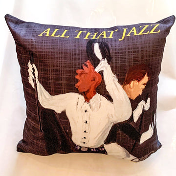All that Jazz Luxury Pillow - AFRArt2U