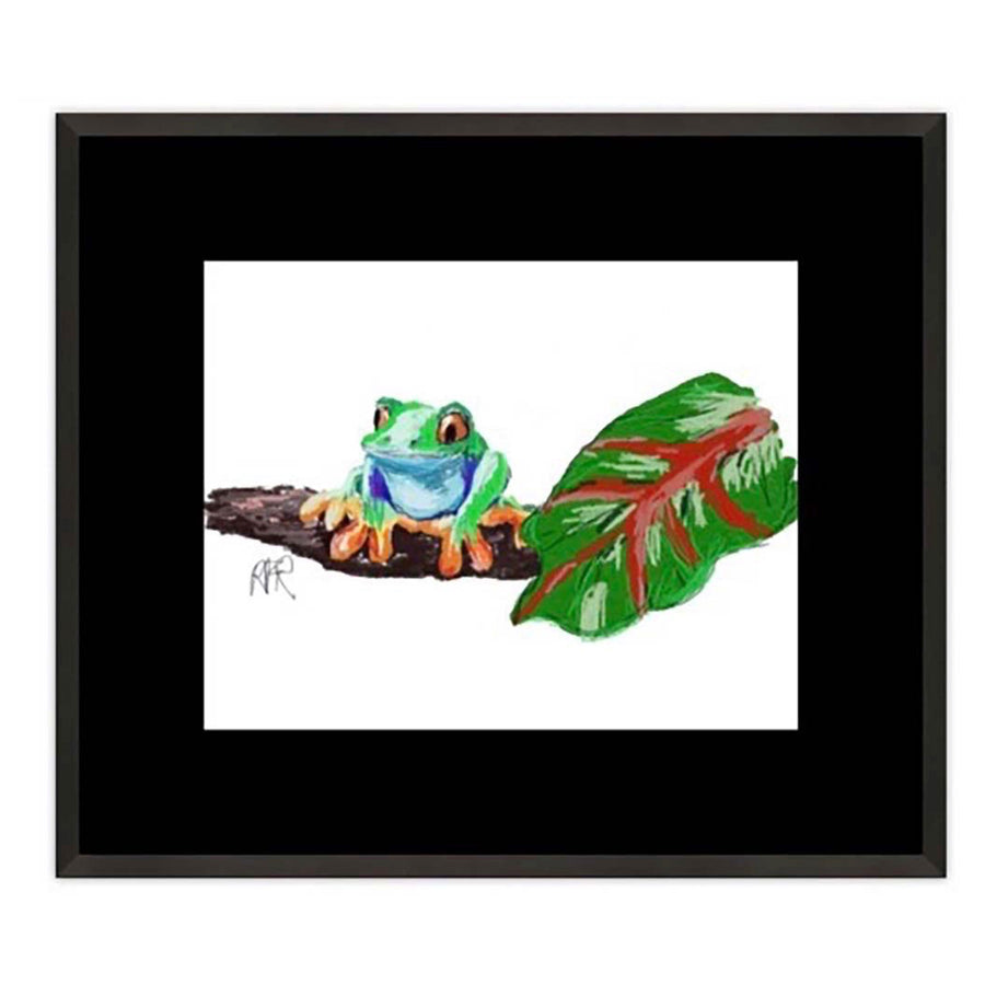Amazon Tree Frog Framed Print - AFRArt2U