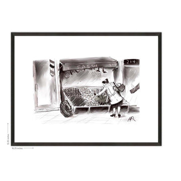 Fresh Farmstand Framed Print - AFRArt2U