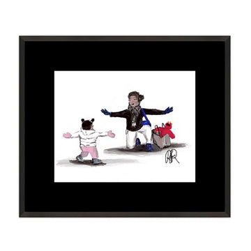 Mother's Love 1 Framed Print - AFRArt2U