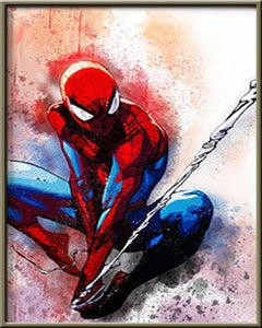 Cartoon Superheros 5D Crystal Art Paintings Decorative DIY Home Decoration Select Round Square Inlay Diamonds Do It Yourself Project ADHD Therapy