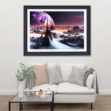 Load image into Gallery viewer, Mars Landscape 5D Crystal Art Paintings Decorative DIY Home Decoration Round Square Inlay Diamonds Do It Yourself Project ADHD Therapy