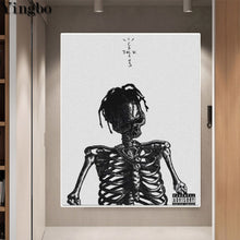 Load image into Gallery viewer, Cactus Jack Skeleton 5D Diamond Painting Kits Round or Square Full Drill Acrylic Diamonds Embroidery Cross Stitch for Men or Women Décor